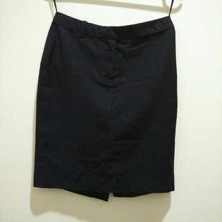 Black Padini Office Skirt