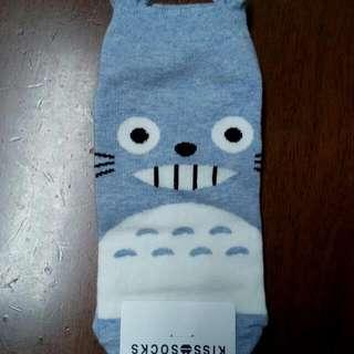🙆全新 龍貓 卡通 襪子 免費 FREE 韓國 短襪 中長襪 可愛 少女 買本賣場東西即送 直接購買價45元(超低價) #你喜歡我就送 #轉轉來換物