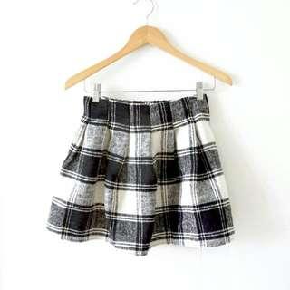NEW 2016 Plaid Checked Mini Skirt / Rok Mini Petak
