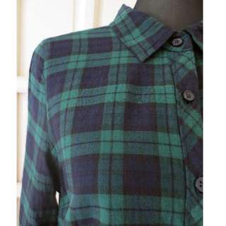 New FADED GLORY Check Shirt Long Sleeved