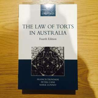 The Law Of Torts In Australia