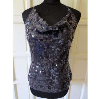 REPRICED! FOREVER 21 Shimmy Shiny Sequin Cowl Neck Top