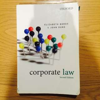 Corporate Law Second Edition