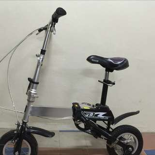 Rare Extendable N Foldable 10 Inch Bike