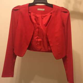 FORCAST Crop Jacket Size 6