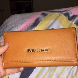 Replica Orange Michael Kors Wallet