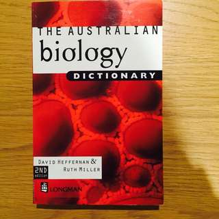 The Australian Biology Dictionary