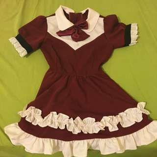 🤑Three pieces set maid dress Size XS-S(pending)