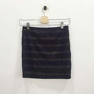 XXi Black Miniskirt