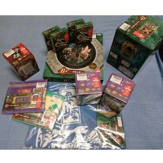 Monster Hunter Cross kuji Priced to Clear! All for $45 nego available