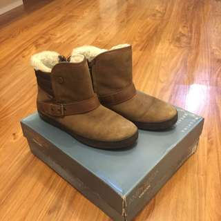 Geox Amphibiox Boots In Brown