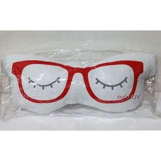 JINS 眼鏡造型 抱枕