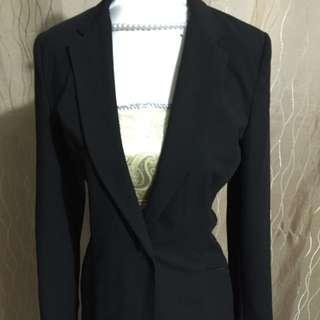Ladies Target Black Coat Size 6
