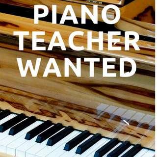 Piano Teacher Wanted