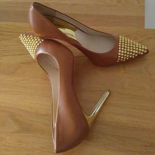 (Price Reduced) Michael Kors Pump Heels With Studs