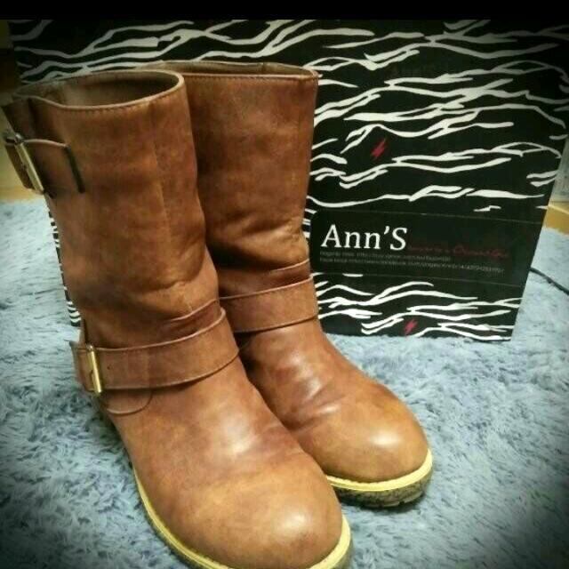 ann's工程靴40號