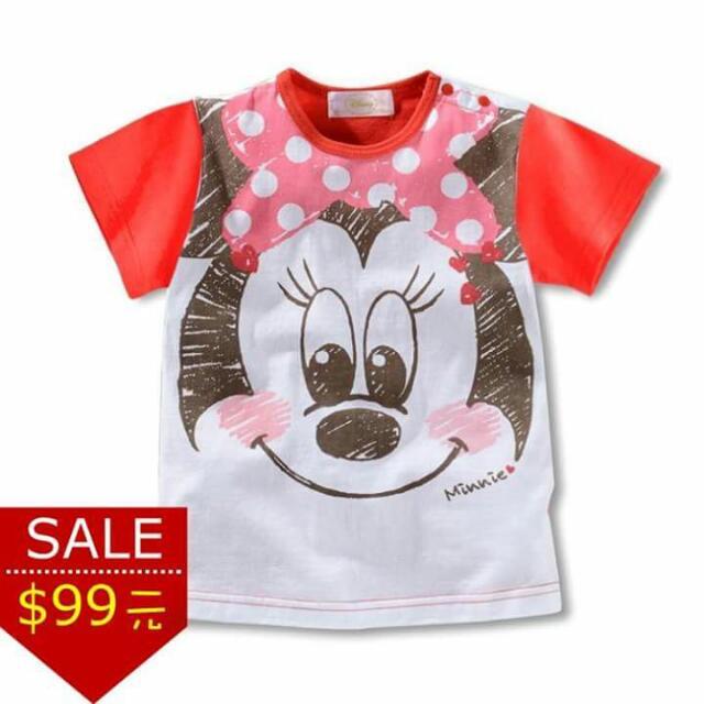 迪士尼日系手繪風格休閒上衣 米妮款