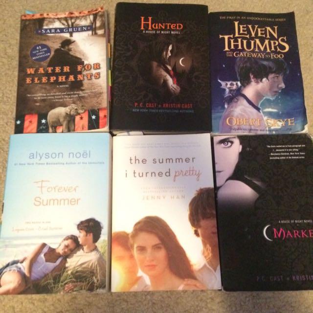 Assorted Book Bundle