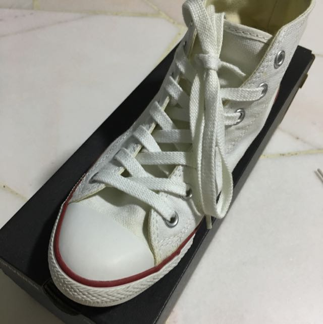 5a4c984b8295 Authentic Converse CT dainty mid white US 6