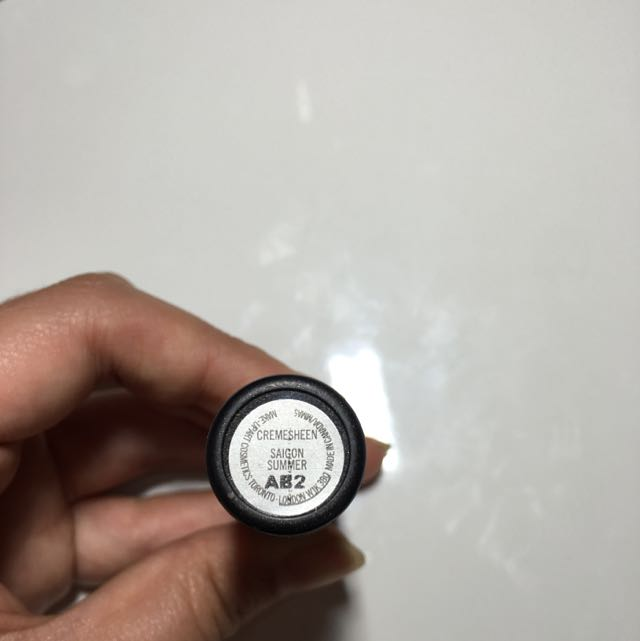 "Authentic MAC cremesheen Lipstick In ""Saigon Summer"""