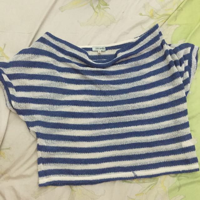 Croptee stripes