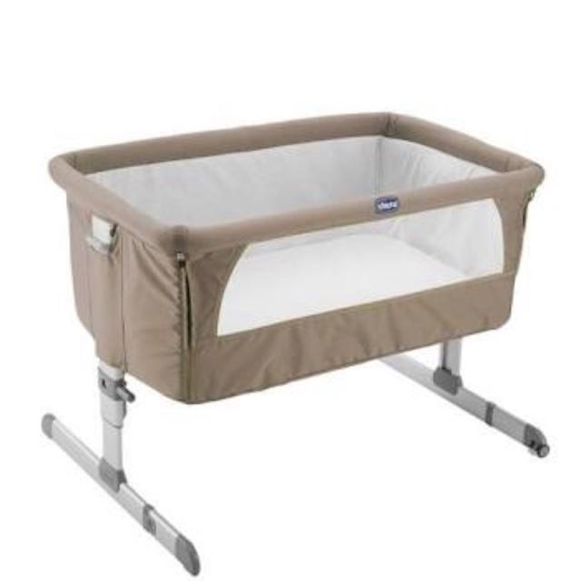 Bedside Crib Dove (Grey)