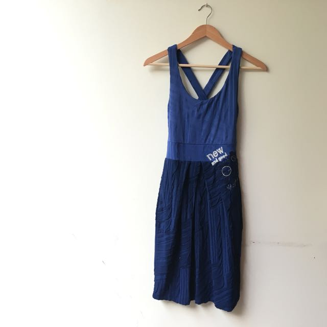 Blue Summer Dress