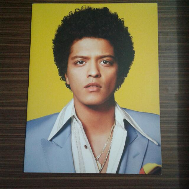 Bruno Mars Moonshine Jungle Tour Book 2014