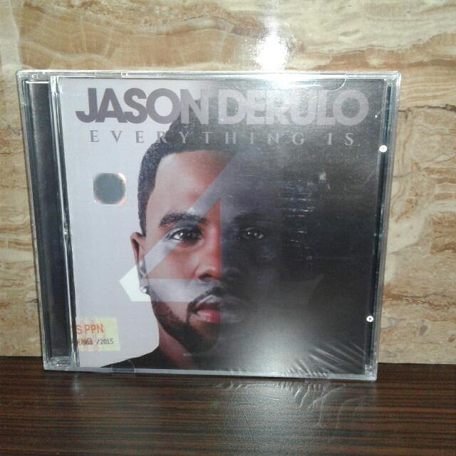 Cd Jason Derulo - Everything Is 4 ( New Sealed)