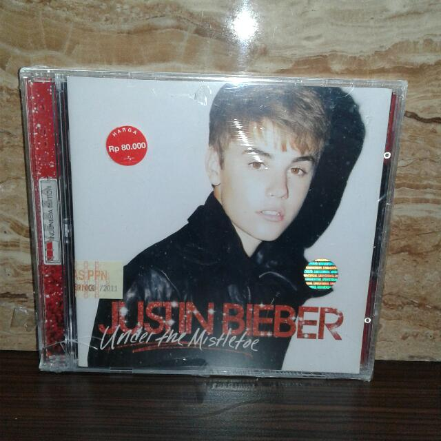 Cd Justin Bieber - Under The Mistletoe (New Sealed)