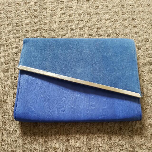 Colette Royal Blue Clutch/Purse