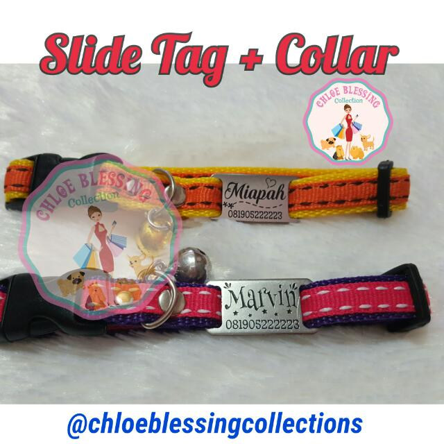 Collar Medium + Slide Tag