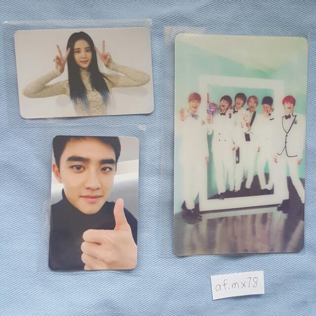 EXO, BEAST, EXID Official PCs