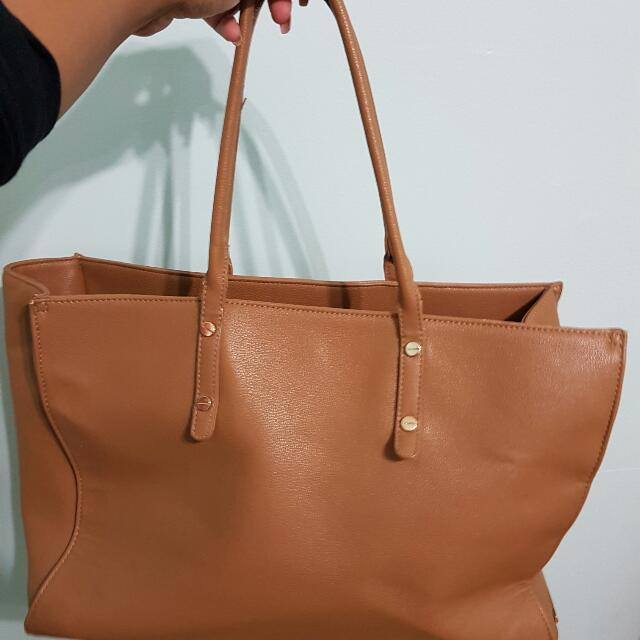 Forever 21 Beige Tote