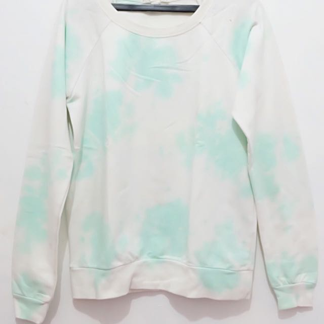 FOREVER 21 SWEATER (in White & Mint color)