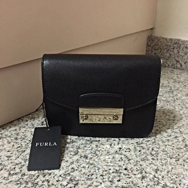 b8268e9f7fd1 Furla Julia Mini Saffiano Leather Crossbody