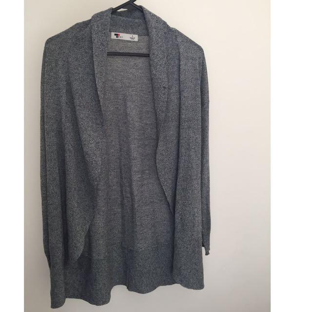 Grey TEMT Cardigan