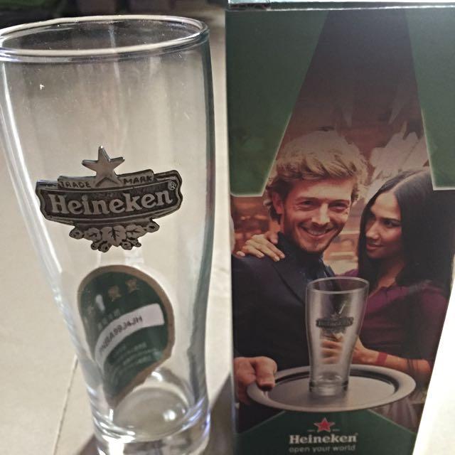 Heineken海尼根高質感啤酒🍺果汁🍹玻璃杯