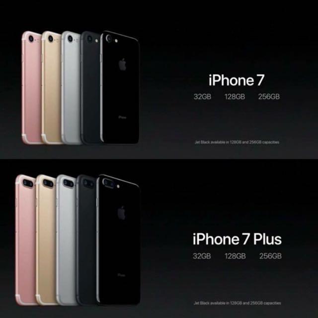iPhone 7 預購中