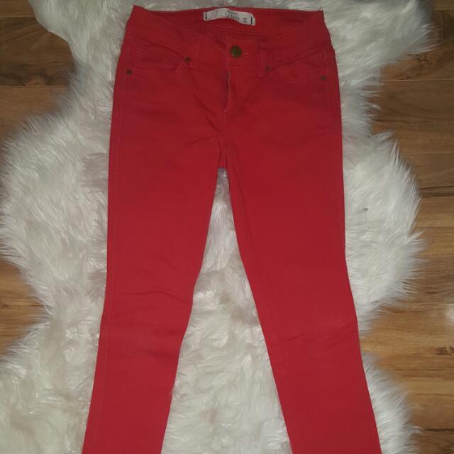 Jay Jays Red Skinny Jeans