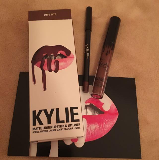 KYLIE Lip Kit 💋 LOVE BITE