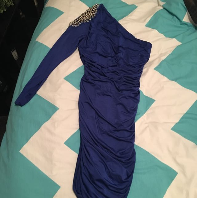 Ladies Blue Dress
