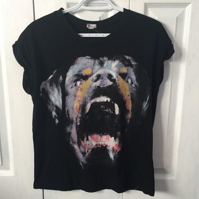 M garage dog tshirt