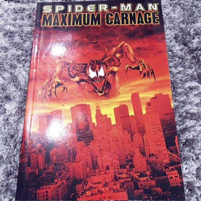 Marvel Spider Man Maximum Carnage Books Stationery Comics