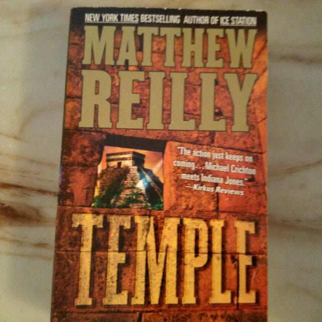 Matthew Reilly Novel Excellent Condition