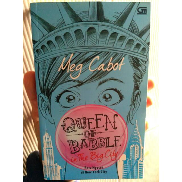 MEG CABOT - Queen Of Babble #2: In The Big City