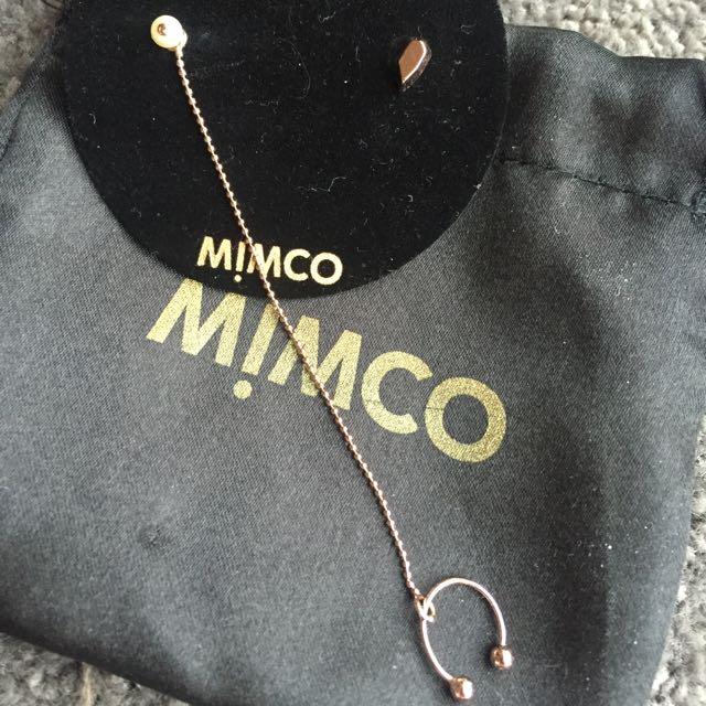 MIMCO Rose Gold Earrings