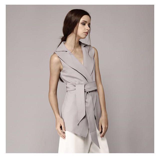 Missechic Grey Outerwear