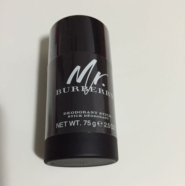 mr burberry deodorant