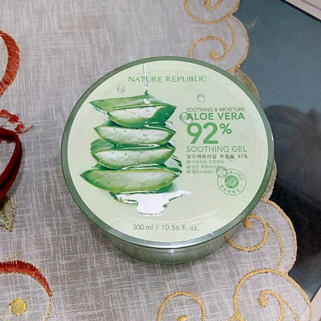 REPRICED!! {New} Nature Republic Aloe Vera Gel